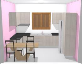 projeto cozinha com mesa