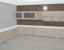 Cozinha Modulada Completa com 21 Módulos Solaris Carvalle/Branco - Kappesberg