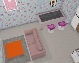Uma casa simples de uma mulher solteira
