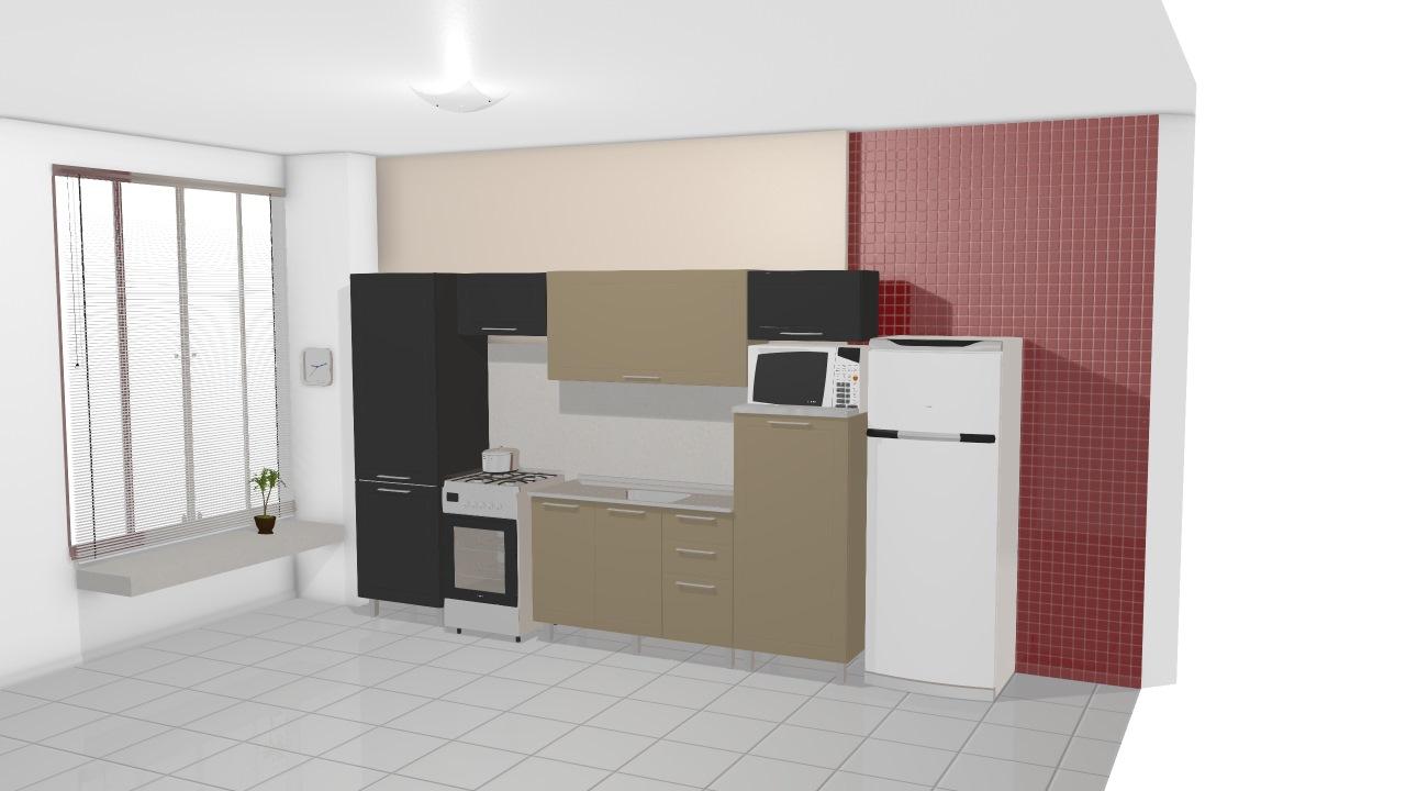 Cozinha Modulada Em A O Completa 6 M Dulos Play Preto Jabuticaba