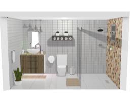 Projeto banheiro finalizado