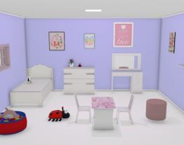 esse eo meu quarto de verdade so que meus quadros sao mas bonitos e minha juaninha e rosa e tem brinquedo pelo chao todo
