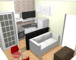 Projeto Pia Lateral e Mesa 60x60