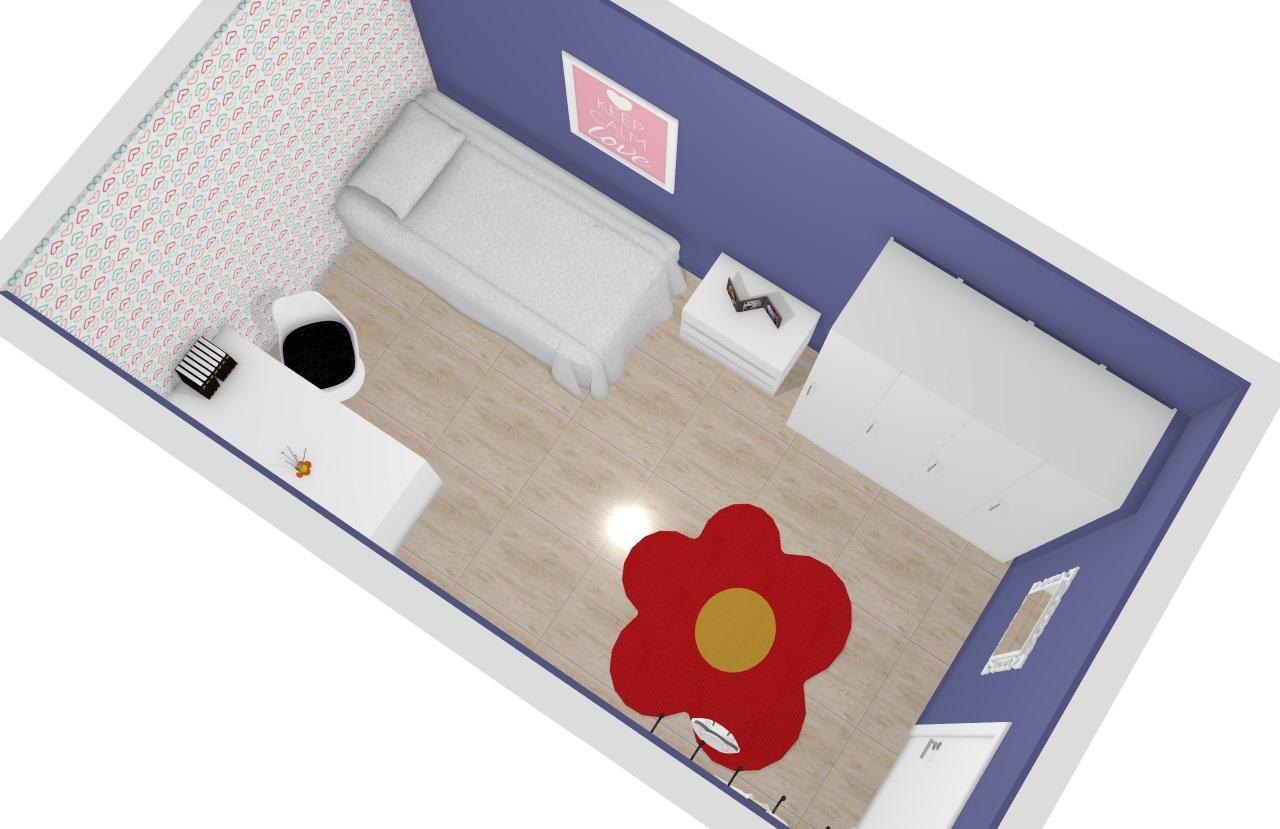 quarto azul julia