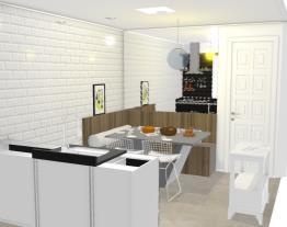 cozinha duplex preta