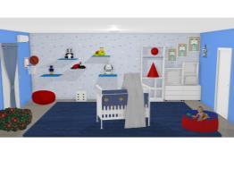 quarto de bebê Rose