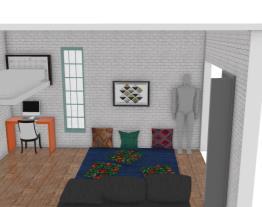 quarto/sala flat 2
