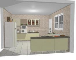 Meu projeto no Mooble cozinha lene
