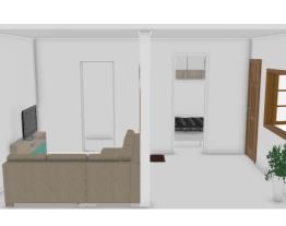projeto sala pequena