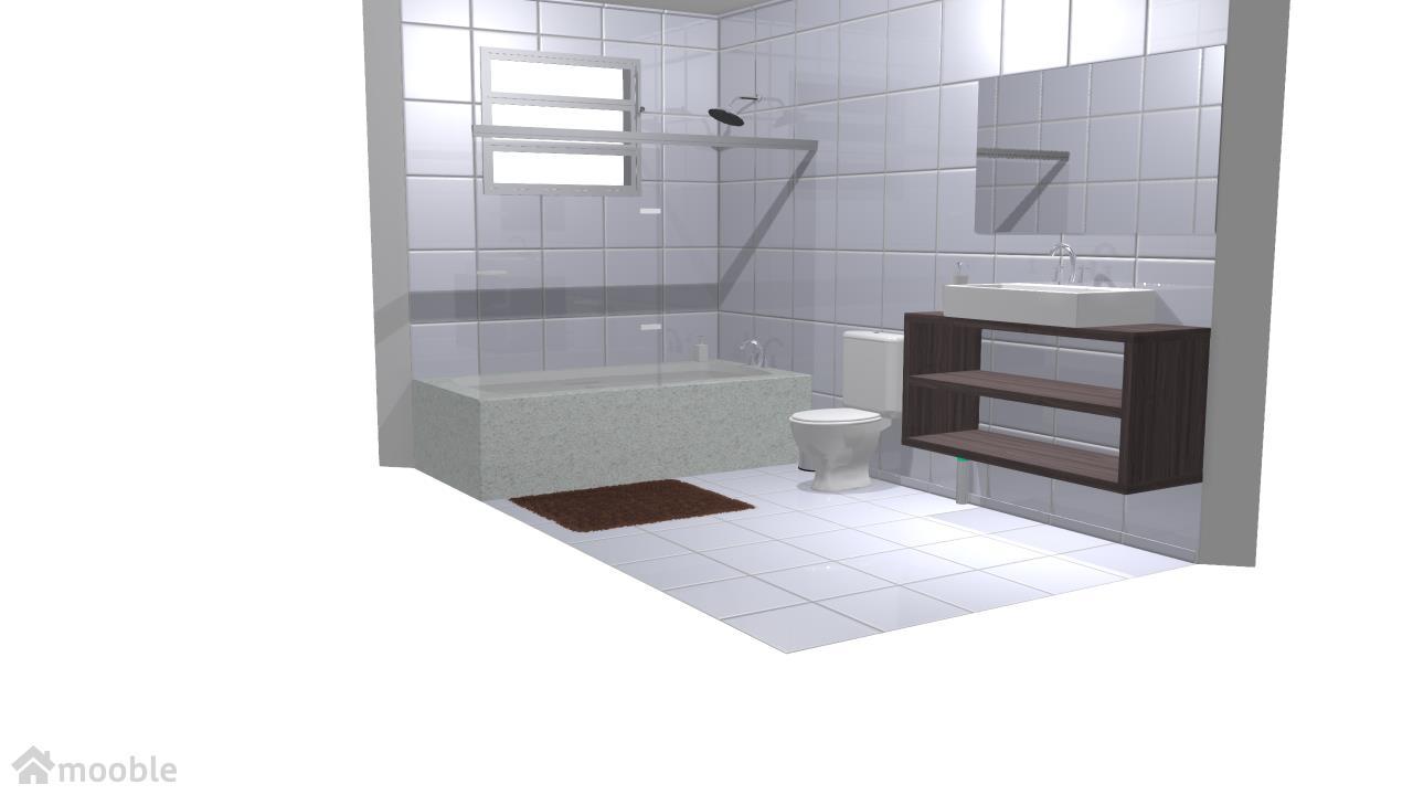 Meu projeto no Mooble meu banheiro suíte