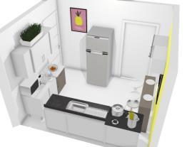 Projeto Cozinha pequena