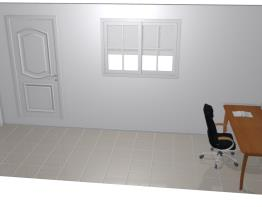 corredor quarto escritorio e sapateira