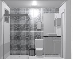Banheiro Social Sobrado
