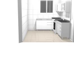 cozinha da casa da arvore