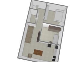Meu projeto no Mooble de um apartamento de cima
