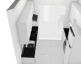 casa nova cozinha