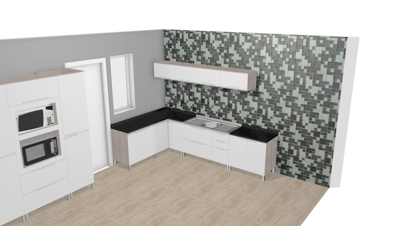 Cozinha Modulada Completa Suspensa Com 11 M Dulos Solaris Carvalle