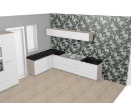Cozinha Modulada Completa Suspensa com 11 Módulos Solaris Carvalle/Branco - Kappesberg
