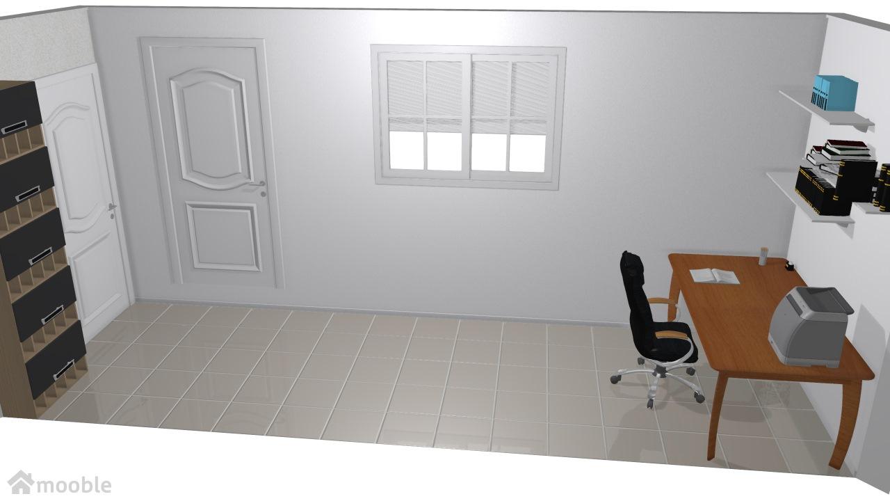 corredor quarto escritorio e sapateira 2
