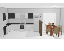 mudando cozinha