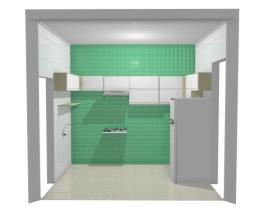 Cozinha Cap Barbosa pia/fogao alvenaria