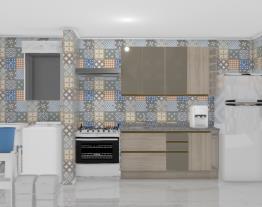 Cozinha com área de serviço (02)