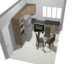 Cozinha sem porta
