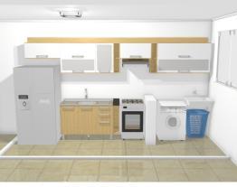 Cozinha + Área Itatiaia Audace