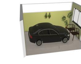 Garagem pequena
