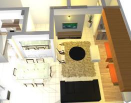 Sala conjugada com varanda 5