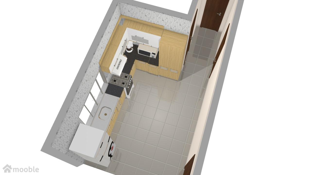cozinha na sala