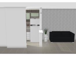 Sala/Cozinha - sem parede