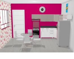 Essencial Bella - parede rosa AP