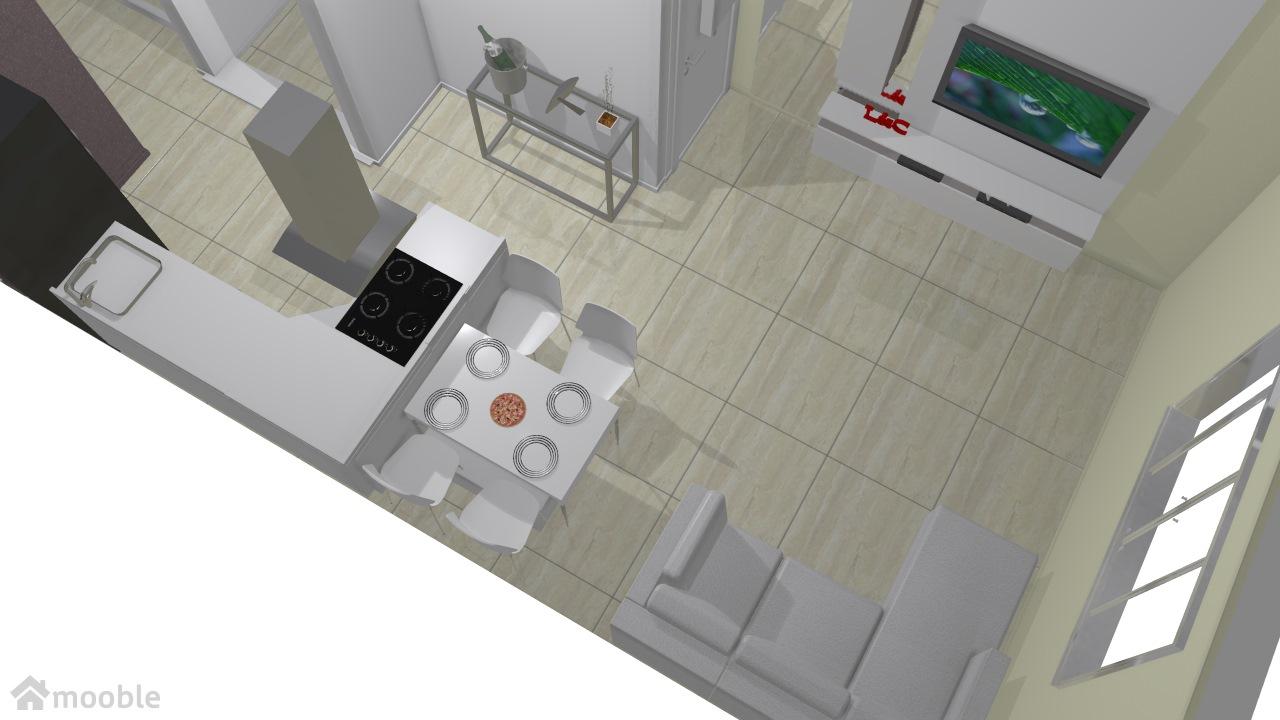 Planta casa sala diferente
