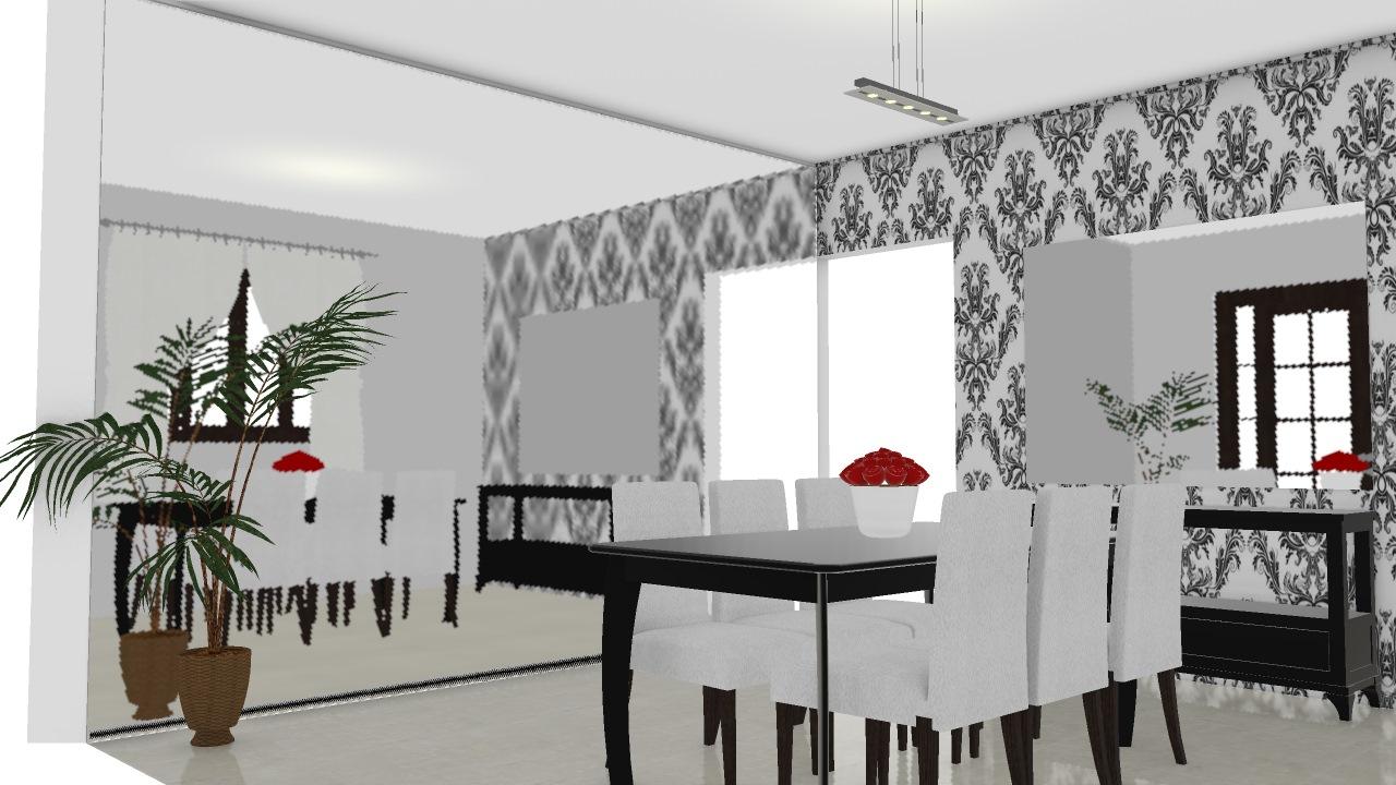 sala de jantar casa nova