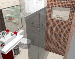 banheiro renovado (Dijane)