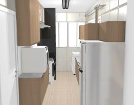 Cozinha e Área de Serviço - Paula