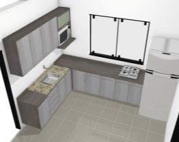 CLIENTE DILVANA (Montar a cozinha suspensa do chão, se necessário cortar o tampo para o cooktop)
