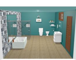 banheiro Rose