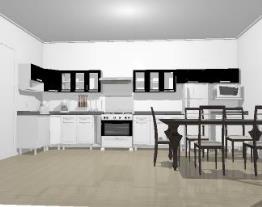 Meu projeto no Mooble cozinha raiara