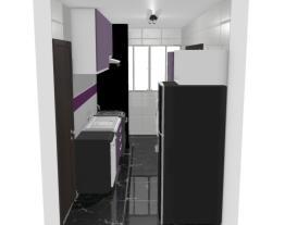 Cozinha e Área de Serviço - Cassiana