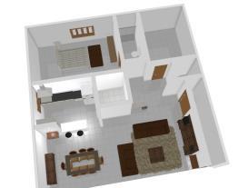 Casa pré moldado