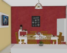 Sala de Jantar Alessandro & Cida