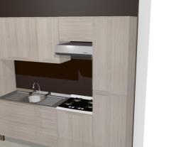 Cozinha Modulada Completa com 6 Módulos Solaris 100% MDF Carvalle - Kappesberg