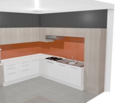 Cozinha Modulada Completa Unique com 12 Módulos Branco/Carvalle - Kappesberg