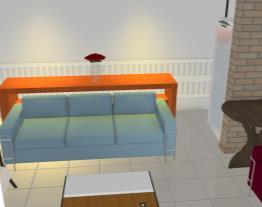 Sala conjugada com varanda 6