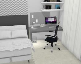 quarto hospedes/escritório