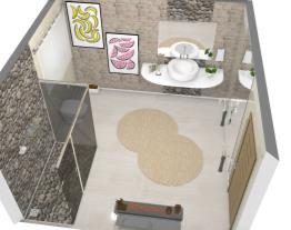 Banheiro principal (Casa moderna)
