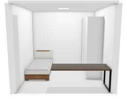 quarto escritório pequeno
