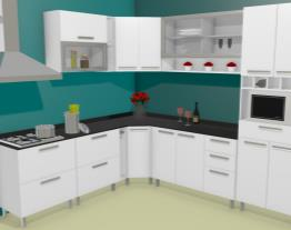 Cozinha Lady Mon Requinte Plus - L.Armani